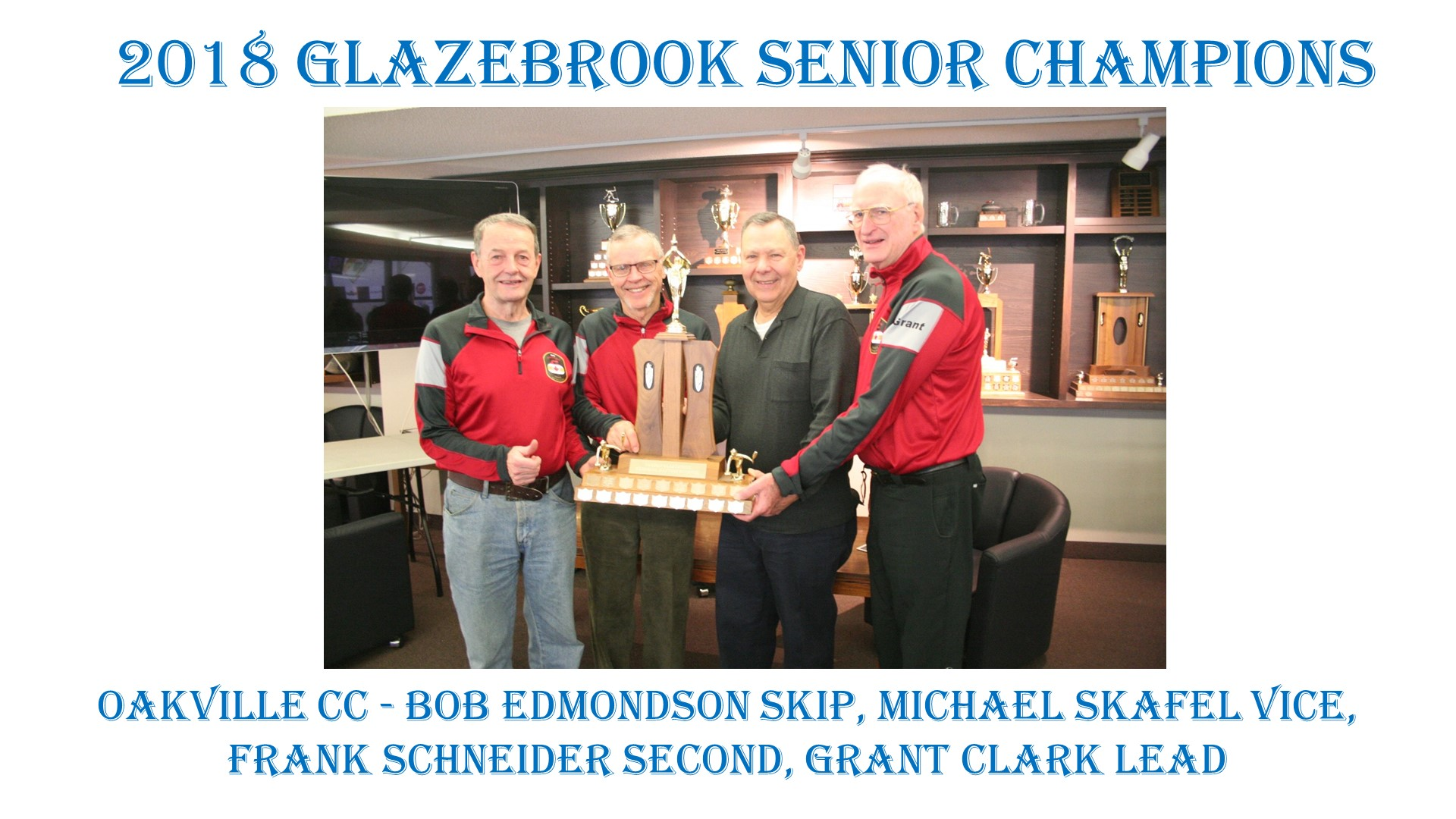 2018 Glazebrook Senior Winners with names